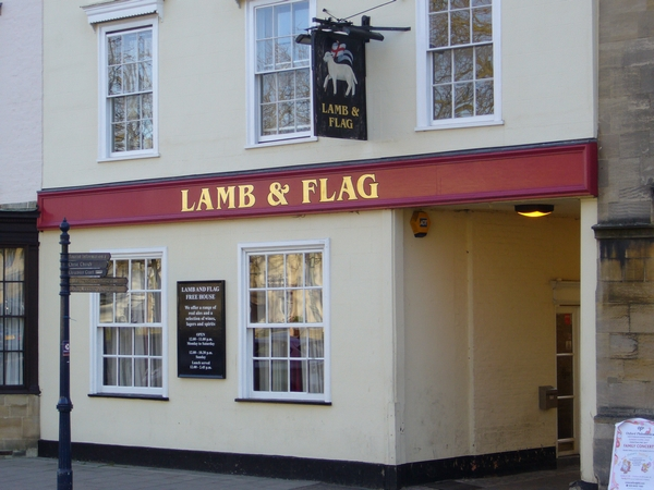 6. The Lamb & Flag - St. Giles