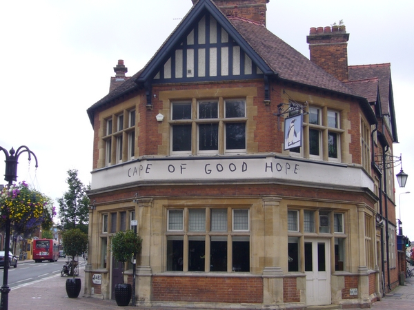 15. The Cape of Good Hope - Iffley Road (The Plain)